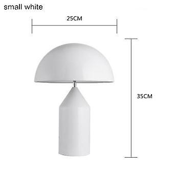 Modern Table Lamp Mushroom Table Light Bedroom Bedside Lamps Metal Gold Black