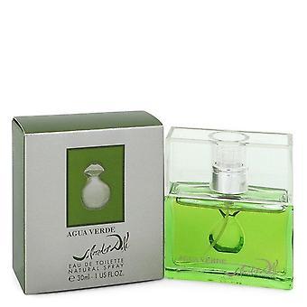 Agua Verde Eau De Toilette Spray By Salvador Dali 1 oz Eau De Toilette Spray