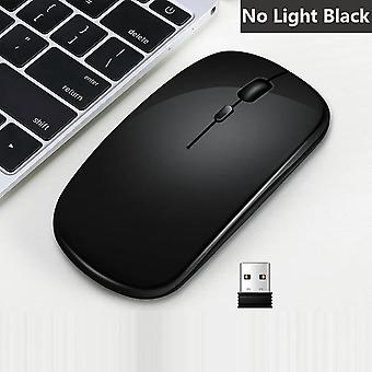 Rechargeable, Wireless Mouse, Silent Gaming, Led Backlit, Usb Optical Ergonomic