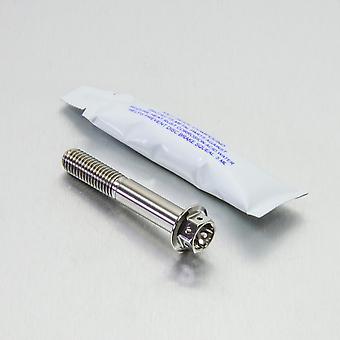 Kit de perno de montaje en pinza de freno trasero Pro Bolt Titanium (1 paquete) TIRBMON50R