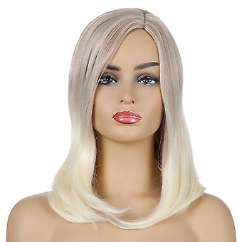 Brand Mall Wigs, Lace Wigs, Realistic Fluffy Long Hair, Straight Blond Hair Wigs