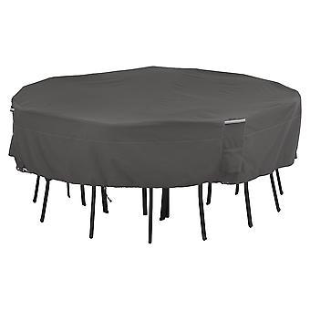 Accessori classici Ravenna Quadrato Patio Tavolo e sedia Set Copertina - Premium Outdoor Furniture Cover, Medio-Grande (55-710-015101-Ec)