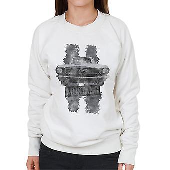 Ford Mustang Stripe Women's Sweatshirt