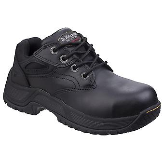 Dr martens calvert steel toe safety shoes womens