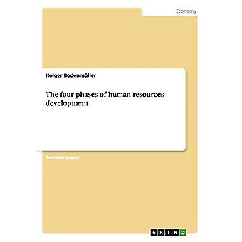 The four phases of human resources development by Holger Bodenmuller