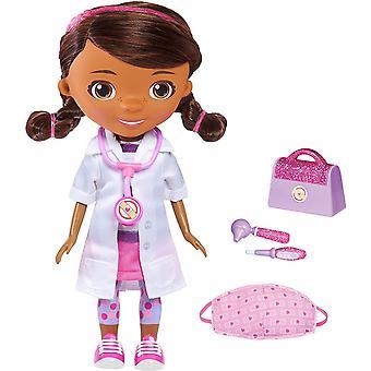 דוק McStuffins לשטוף את הידיים בובה