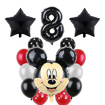 Mickey Minnie Mouse Party, Balloons Birthday Party Decorations Baby Shower