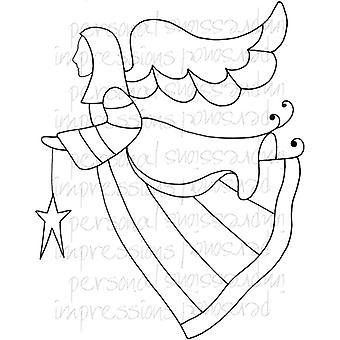 Lindsay Mason Designs Zendoodle Angel A6 Clear Stamp