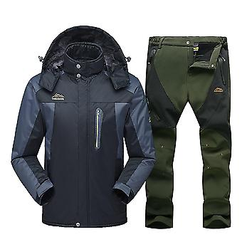 New Ski Suit Men Winter Waterproof Windproof Snow Clothes