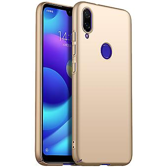 Ultra thin case for redmi note 7 anti fall shockproof cover gold kc430