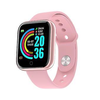 Männer Frauen Y68 wasserdichte Smart Watch, Blutdruck Herzfrequenz Tracker Sport