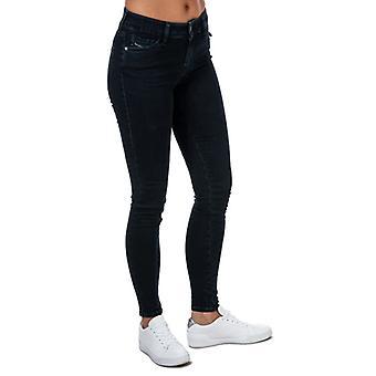 Damen Diesel Slandy Super Slim-Skinny Jeans in Blau
