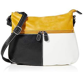 N.V. Bags ABI, Women's Bag, Mustard/Black