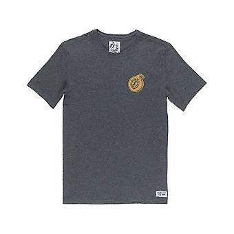 Element Blast Short Sleeve T-Shirt in Charcoal Heather