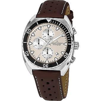 جاك ليمانز ساعة اليد الرجال سلسلة 200 كلاسيك 1-2041L