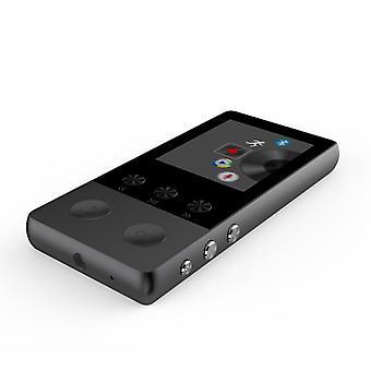 Bluetooth Mp3 Player Mp4 Walkman Student Can Insert Card Ultra-thin Mp3-black