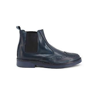 Duca di Morrone - Zapatos - Botines - 400D-PELLE-JEANS - Hombre - marina de guerra - EU 41