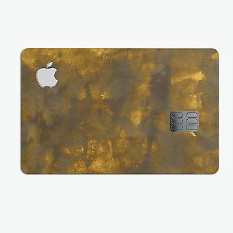 Splotched Golden Fibers V1 - Premium-Schutz-Aufkleber-Haut-Kit für die