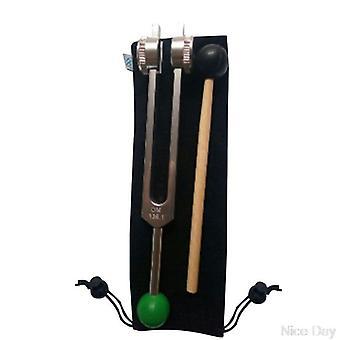 Om Tuning Fork, gewogen met Buddha Bead Base voor ultieme genezing en