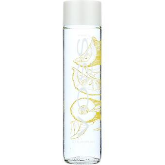 Voss Water Sprkl Lemon Cucmbr Glass, Case of 12 X 12.7 Oz