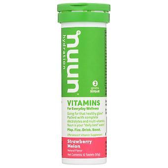 Nuun Vitamin Strwbry Melon, Case of 8 X 12 TB