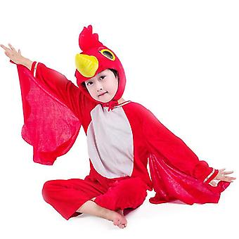 Cock lange cosplay kostuum kostuum podium kleding vakantie kleding (3XL (160cm))