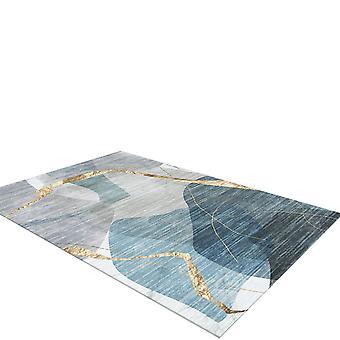 YANGFAN Modern Geometric Pattern Carpet for Living Room Bedroom