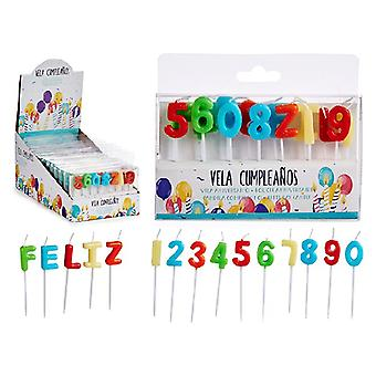 Kynttiläsetti Feliz Cumpleaños