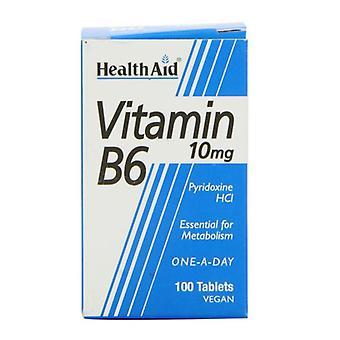 HealthAid B6-vitamiini 10 mg tabletit 100 (801065)