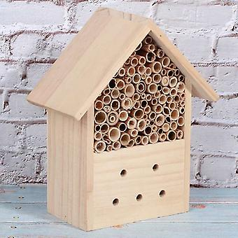 Wood Insect House Bee House