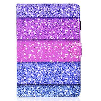 Case For Ipad 9 10.2 2021 Cover With Auto Sleep/wake Pattern Magnetic - Pink Purple Blue