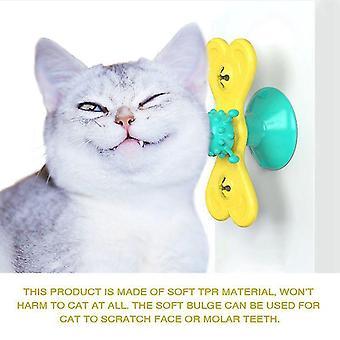 طاحونة القط لعبة التفاعلية لعبة للكلب فرك فرشاة الشعر الاستمالة كأس شفط التدليك