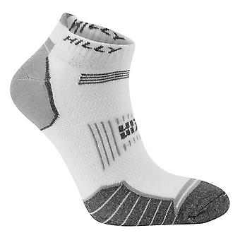 Hilly Twin Skin Socklets - White/Grey Marl