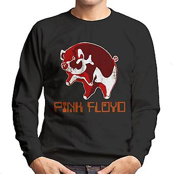 Vaaleanpunainen Floyd Ethic Pig Miesten collegepaita