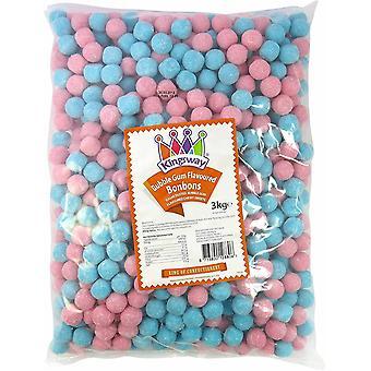 Kingsway Pick & Mix BubbleGum Flavour Bon Bons 1 kilo