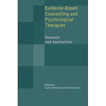 Evidence-based Counselling and Psychological Therapies: Research and Applications