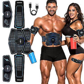 Elektryczny stymulator mięśni brzucha - Masaż odchudzający Unisex Trainer
