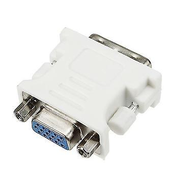 15-polet VGA-stik til DVI-D-stik til mænd
