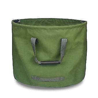 Gardening totes garden waste bag  collapsible canvas reusable gardening hash bag water resistant garden yard leaf
