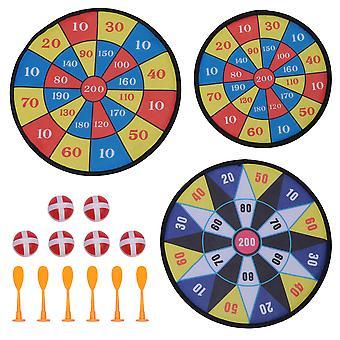 3 סטים בד דביק חץ צעצוע ערכת לזרוק חצים צעצוע יעד משחק לילדים (סגנון, סגנון B, סגנון C)
