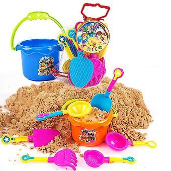 Ensemble de jouet de sable de plage 9 pièce ensemble extérieur de jouet