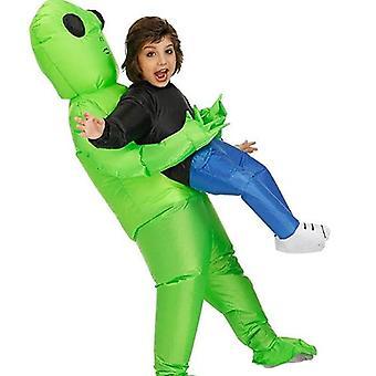 Petrecere de Halloween gonflabile Alien Costumeadalt & copil