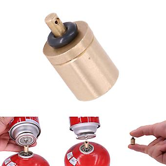 Portable Gas Refill Adapter Outdoor Camping Stove Gas Cylinder Accessories