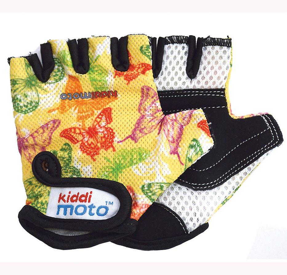 Kiddimoto Cycling Gloves Butterflies Butterfly