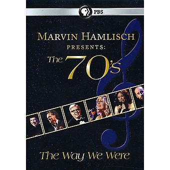 Marvin Hamlisch Presents the 70's the Way We Were [DVD] USA import