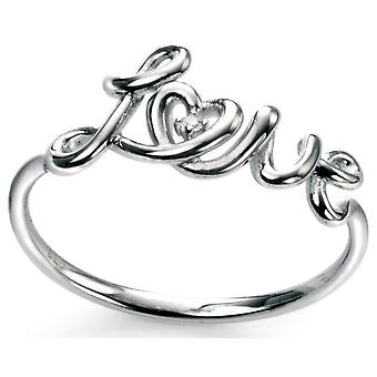 925 Silver Love Trend Ring