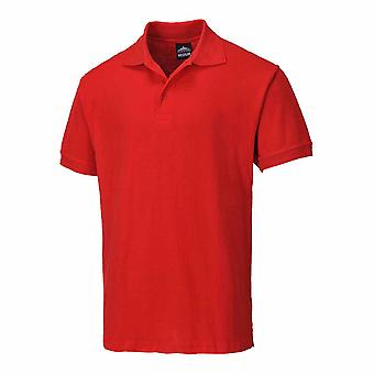 Portwest Work-Casual - Naples Mens Short Sleeved Polo Shirt