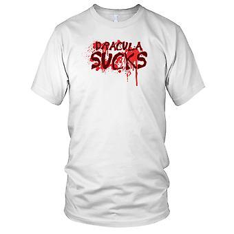 Drácula chupa vampiro para hombre camiseta