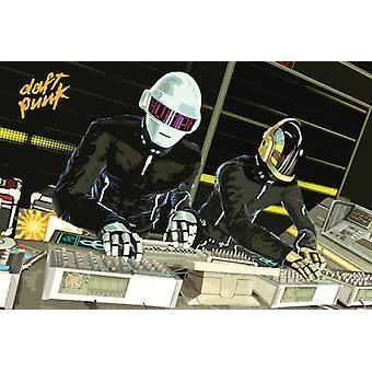 Daft Punk cubiertas cartel Poster Print