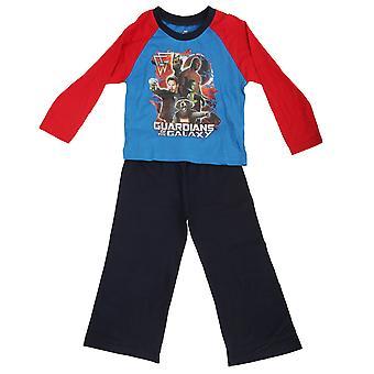Meraviglia per bambini ragazzi guardiani della galassia manica lunga Top e gonne e pantaloni pigiama Set